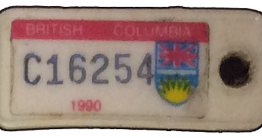 TB Vets Keytag archive 1990