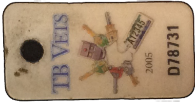 TB Vets Keytag archive 2005