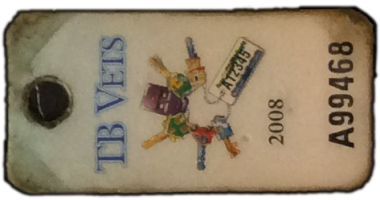 TB Vets Keytag archive 2008