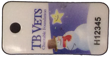 TB Vets Keytag archive 2013 Holiday